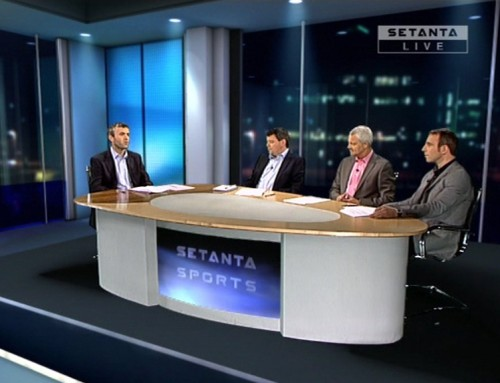 Setanta Sport Case: Enhancing the interaction between presenters/guests and viewers