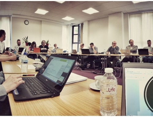 University of Surrey hosts the consortium meeting of VisualMedia
