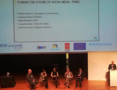 VisualMedia main contributor to the NEM White Paper on the Future Social Media