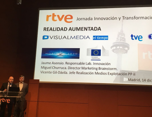VisualMedia presented at RTVE Annual Innovation Meeting